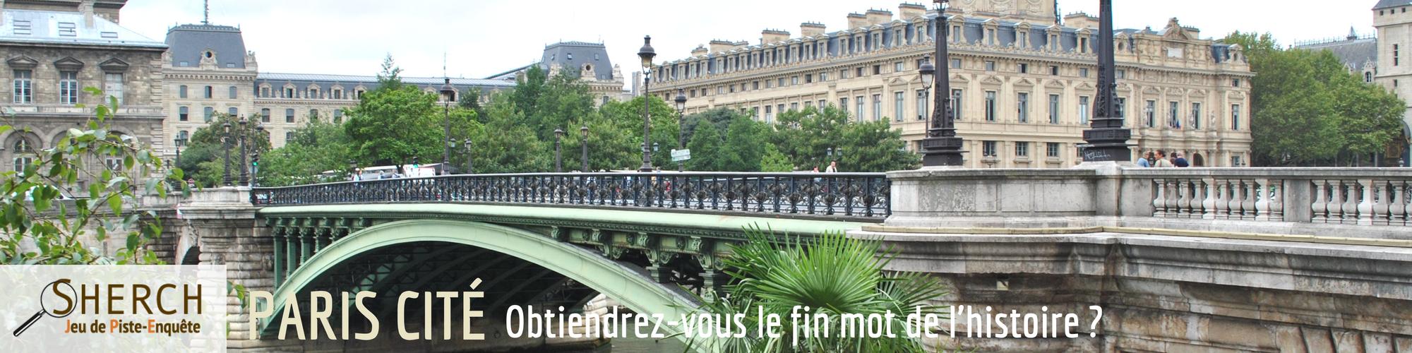 SHERCH enquete Paris cité