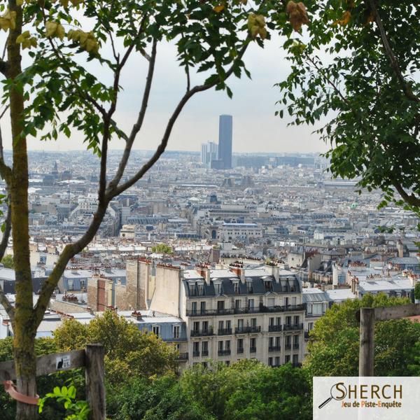 SHERCH JEU DE PISTE PARIS