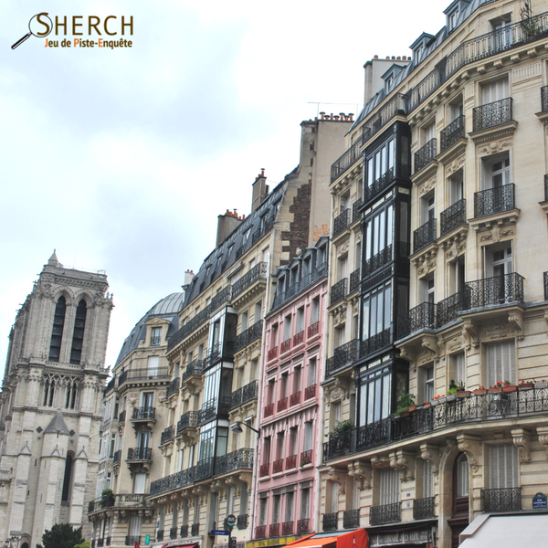 Découvrez Paris en jouant sherch jeu de piste
